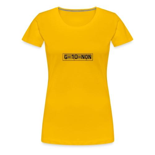 1der - T-shirt Premium Femme