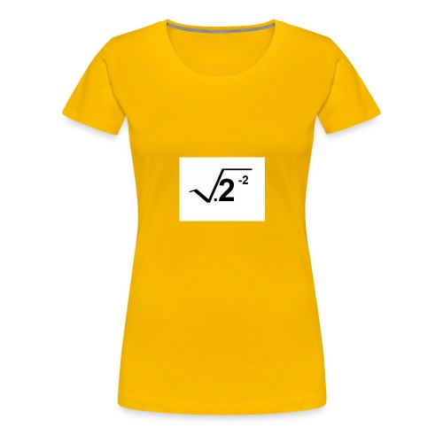 2-2squarerooted - Women's Premium T-Shirt