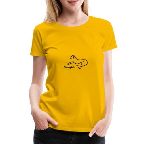 Sloughi - Frauen Premium T-Shirt