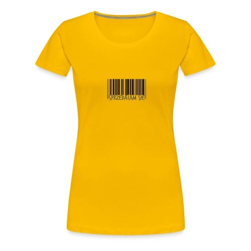 sprzedałam sie - Koszulka damska Premium