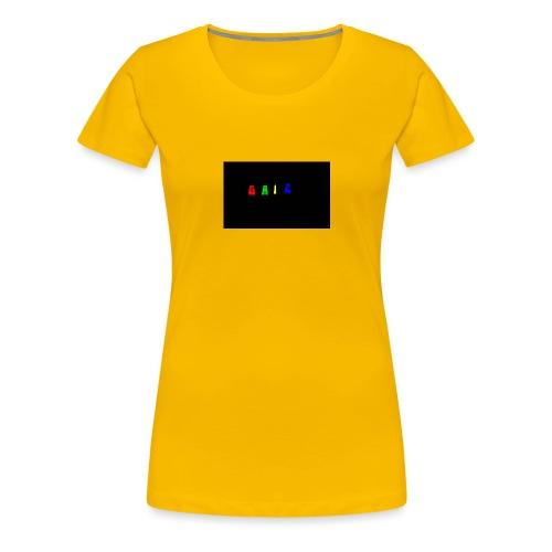 Gaiz - Maglietta Premium da donna