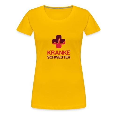 Kranke Schwester II - Frauen Premium T-Shirt