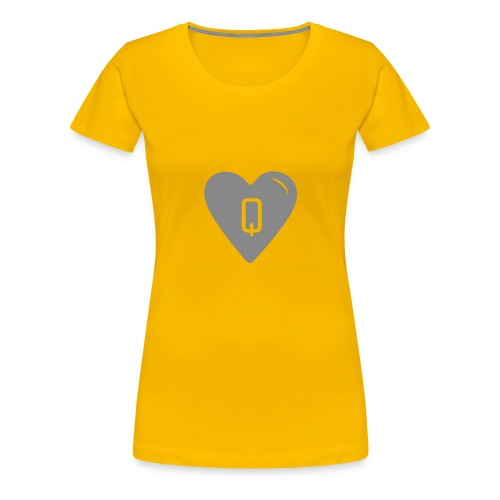 Big Queen Hearts - Women's Premium T-Shirt