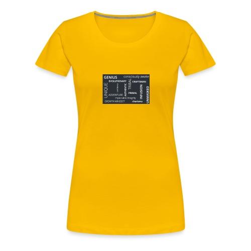 BELIEFS - Women's Premium T-Shirt