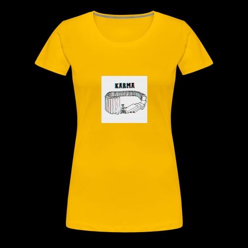 Karma - T-shirt Premium Femme