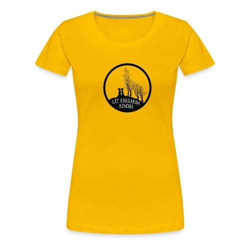 Låt vargarna kommma - Premium-T-shirt dam