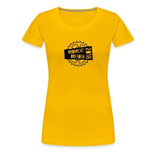Radnacht Dresden 2018 - Frauen Premium T-Shirt