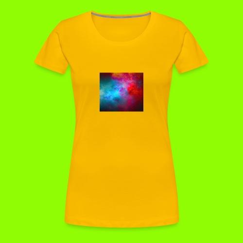 3143A871 4754 40E4 89F7 53869A692B9F - Dame premium T-shirt