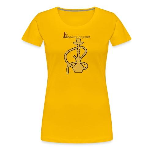 Hookah Magazin Fanshirt - Frauen Premium T-Shirt