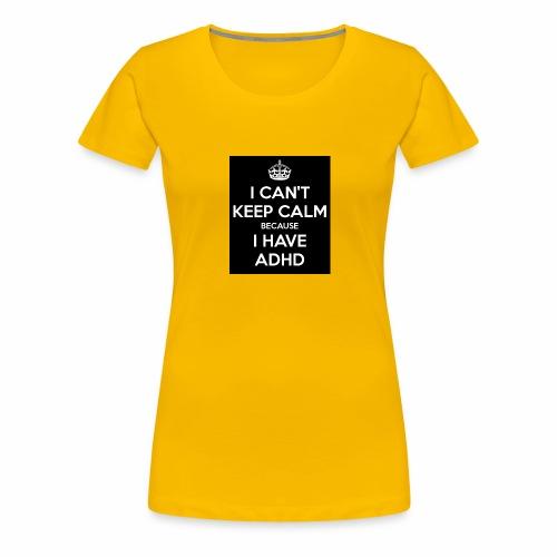 adhd - Premium-T-shirt dam