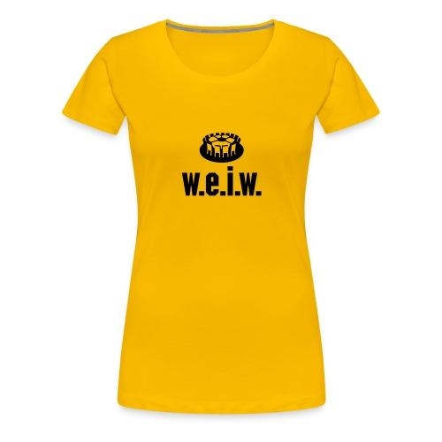 Titeltraum - Frauen Premium T-Shirt