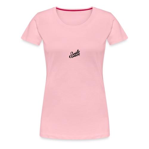 Smlie more - Women's Premium T-Shirt