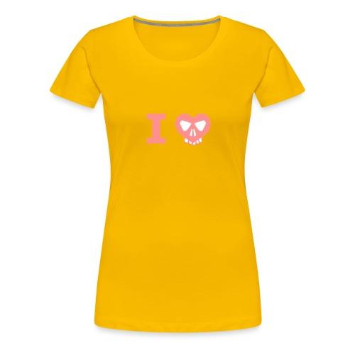 I Love... - Frauen Premium T-Shirt