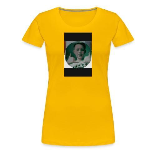 Mon logo de chaîne yrb - T-shirt Premium Femme