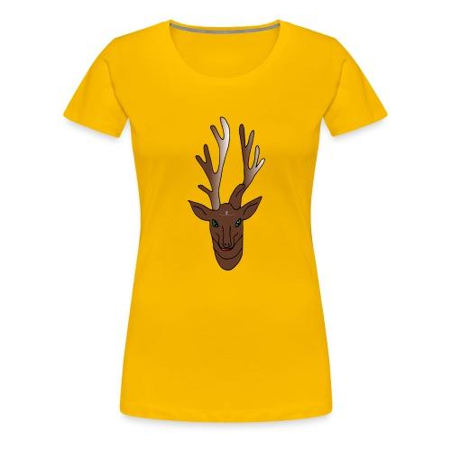 Rentier Rudi - Frauen Premium T-Shirt