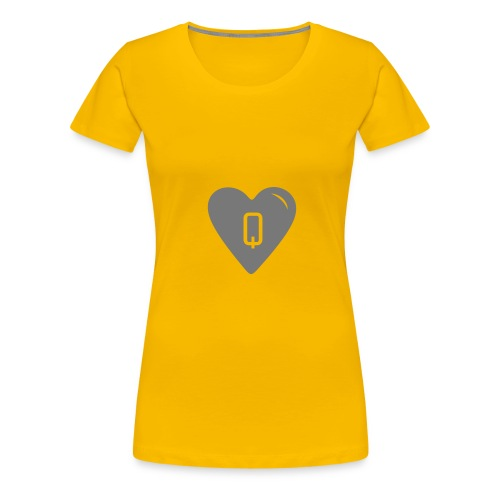 Big Queen Hearts - Women's Premium T-Shirt