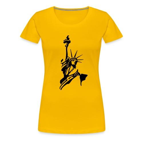 Liberty - Frauen Premium T-Shirt