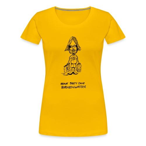 Birnenwasser - Frauen Premium T-Shirt