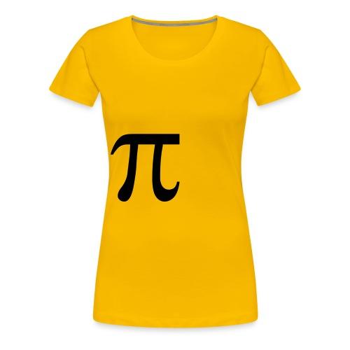pisymbol - Vrouwen Premium T-shirt