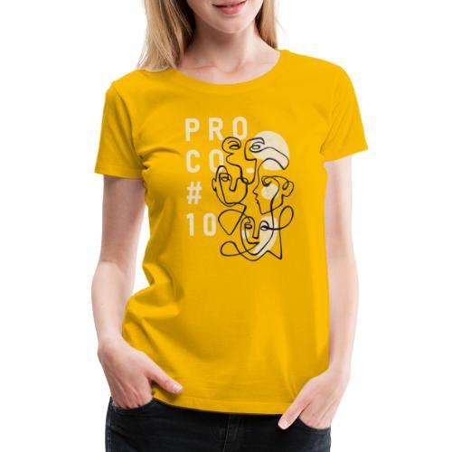 shirt farbig - Frauen Premium T-Shirt