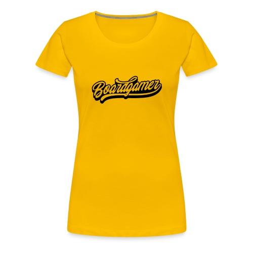 Boardgamer T - Frauen Premium T-Shirt