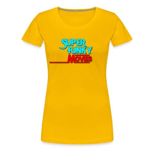 Logotype-SuperFunkyMovies - Premium-T-shirt dam