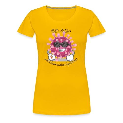 Corona Tshirt - Frauen Premium T-Shirt