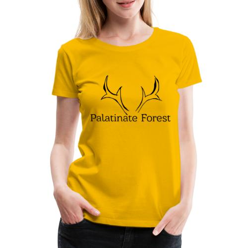 Palatinate Forest svg Geweih - Frauen Premium T-Shirt