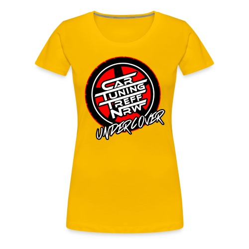 UNDERCOVER RED - Frauen Premium T-Shirt
