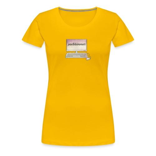 pastelsimmer Computer Merch - Koszulka damska Premium
