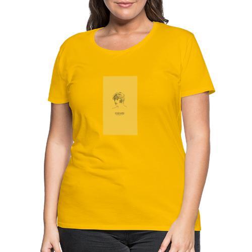 Yellow Boy Art - Women's Premium T-Shirt