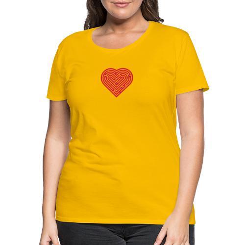 Labyrinth Heart - Women's Premium T-Shirt