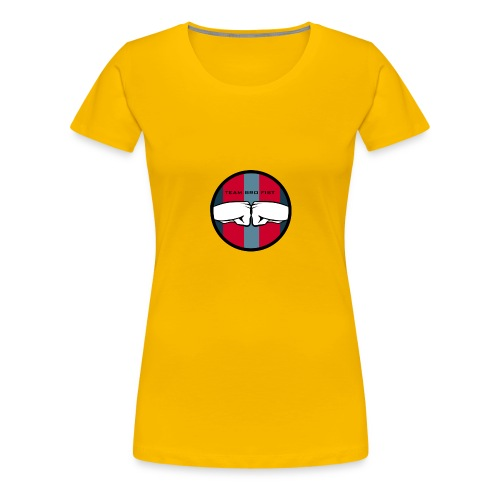 bro - Premium-T-shirt dam