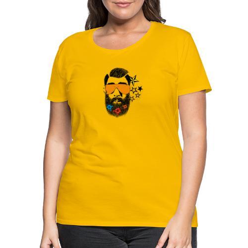 Fake Hipster GM Color - Maglietta Premium da donna