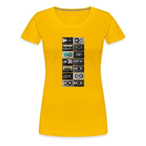 Vintage Cassette - Women's Premium T-Shirt