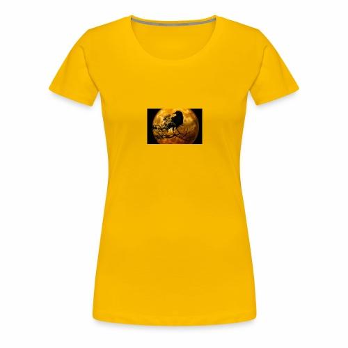 raven - Frauen Premium T-Shirt