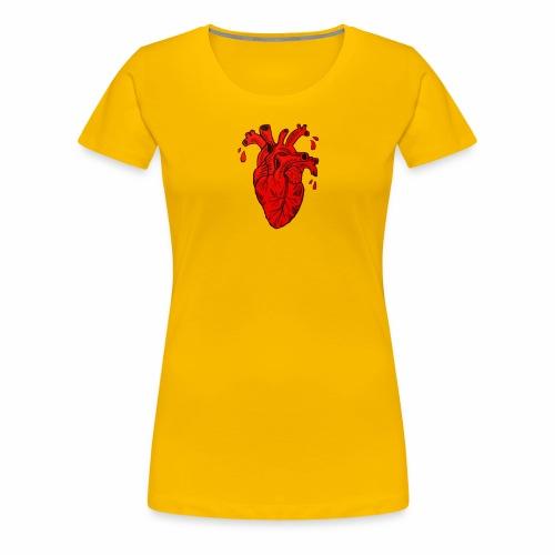 Heart - Maglietta Premium da donna
