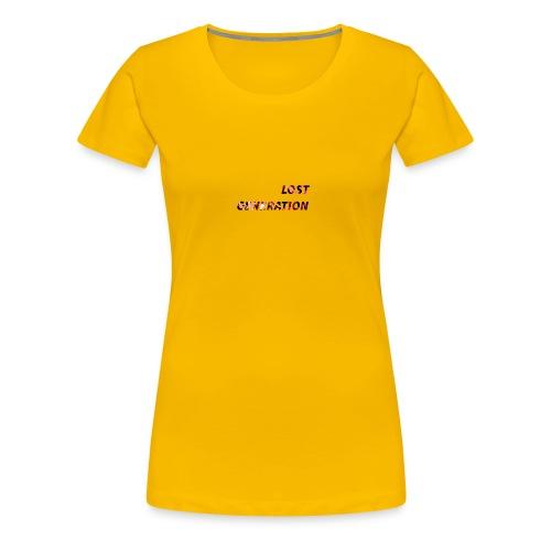 Lost Generation - Camiseta premium mujer