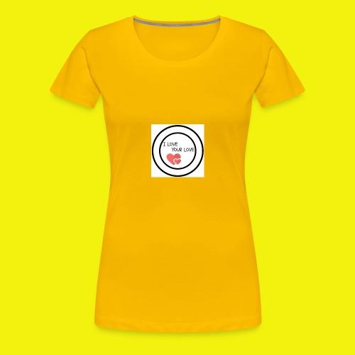 1We are having a baby girl - Camiseta premium mujer