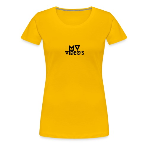 mw video's t-shirt - Vrouwen Premium T-shirt