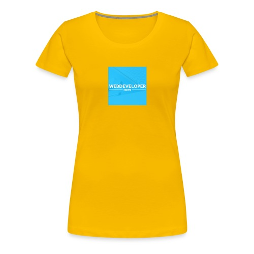 Web developer News - Frauen Premium T-Shirt
