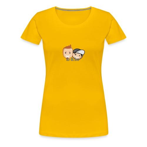 Ib og Bo - Dame premium T-shirt