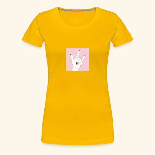 942F1BB4 DC3D 4487 ABF5 A8C0B9F58E76 - Frauen Premium T-Shirt
