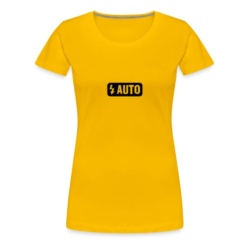 Auto-Flash - Frauen Premium T-Shirt