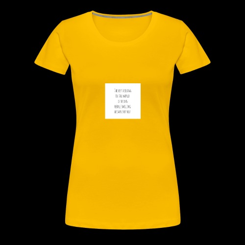 Weil es einfach ist - Frauen Premium T-Shirt