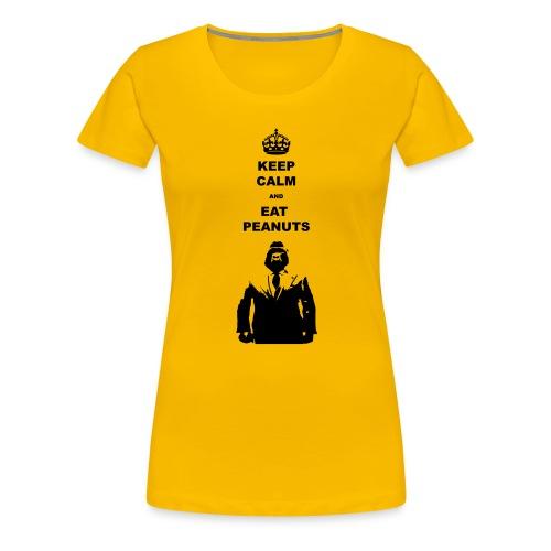 Keep calm eat pindas - Vrouwen Premium T-shirt