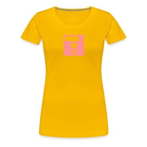 ibisdesigs floppydisk vec - Women's Premium T-Shirt