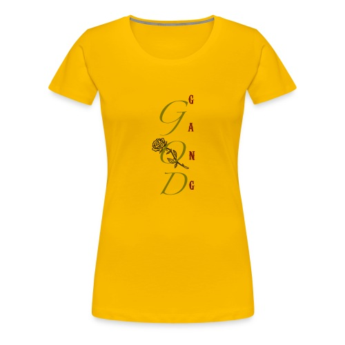 GOD GanG - T-shirt Premium Femme