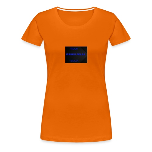 jerkku - Naisten premium t-paita