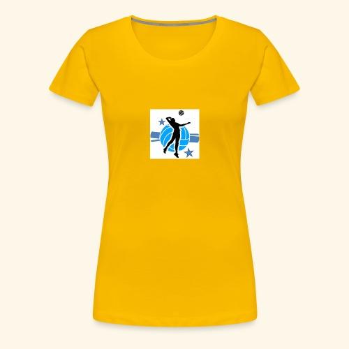 BlueBallStars - Frauen Premium T-Shirt